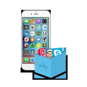 Application pour iphone 6s plus