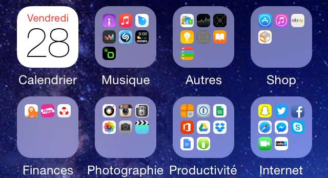 Les application iphone