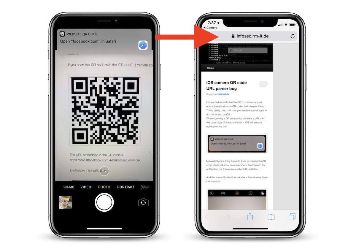 Qr code application iphone