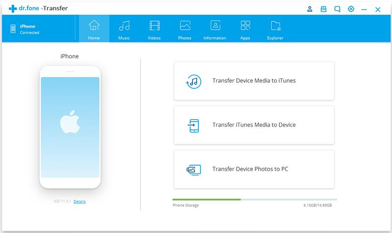 Application transfert photos iphone vers pc