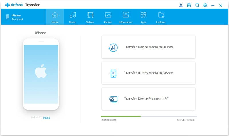 Application transfert musique iphone
