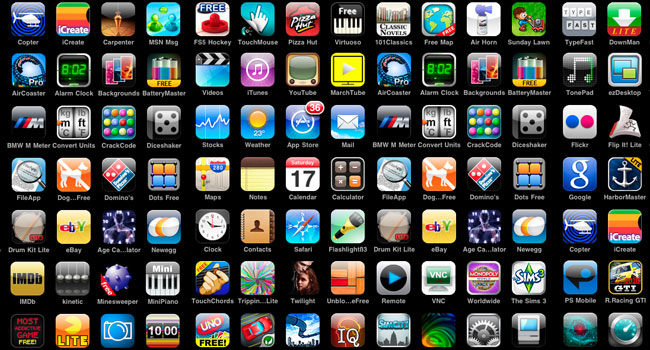 Top 10 application iphone