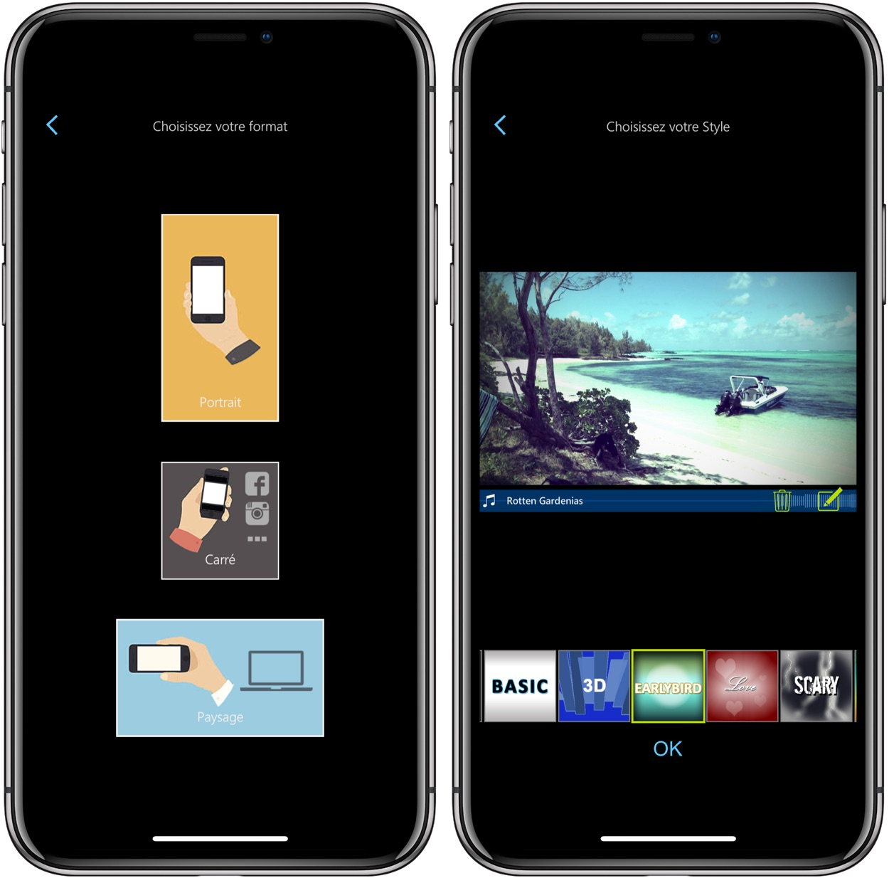 Application montage video iphone gratuit