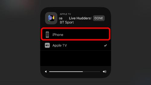 Application iphone bt