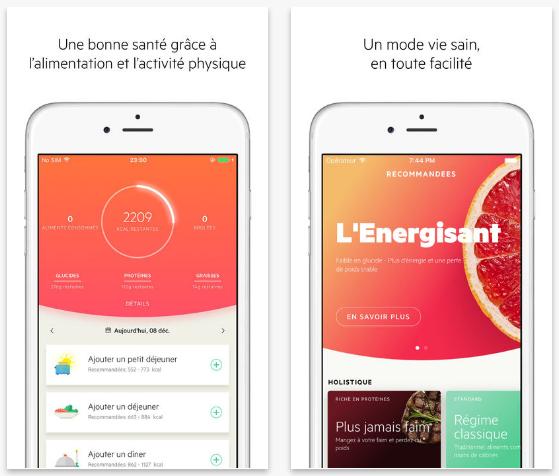 Application santé iphone