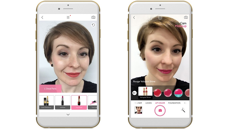 Application make up iphone