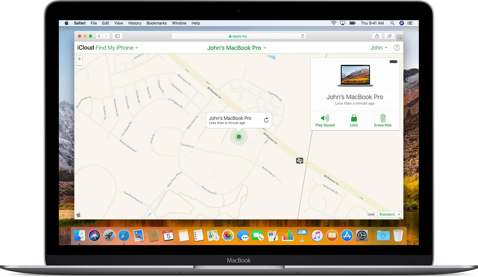 Application iphone sur mac