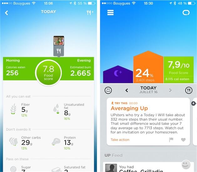 Application iphone suivi alimentaire