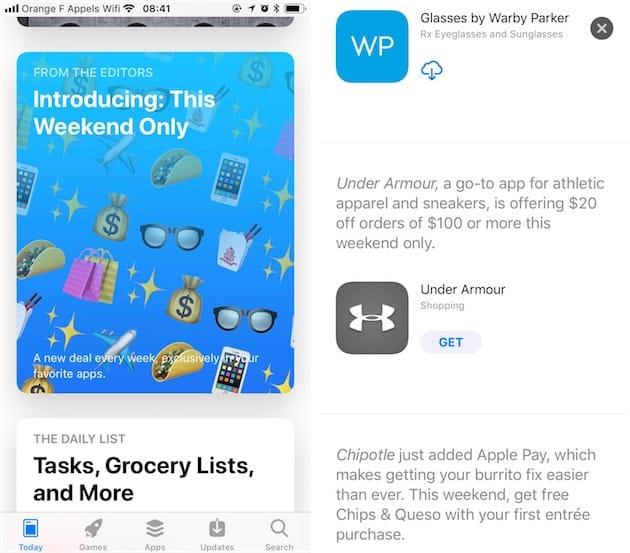 Apple store application gratuite iphone