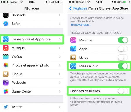 Comment mettre des application sur iphone 4