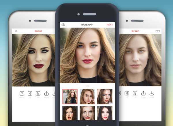 Application retouche photo iphone