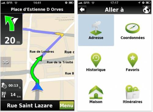 Meilleur application gps pour iphone