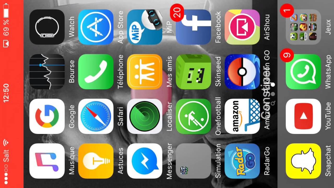 Application mobizen iphone