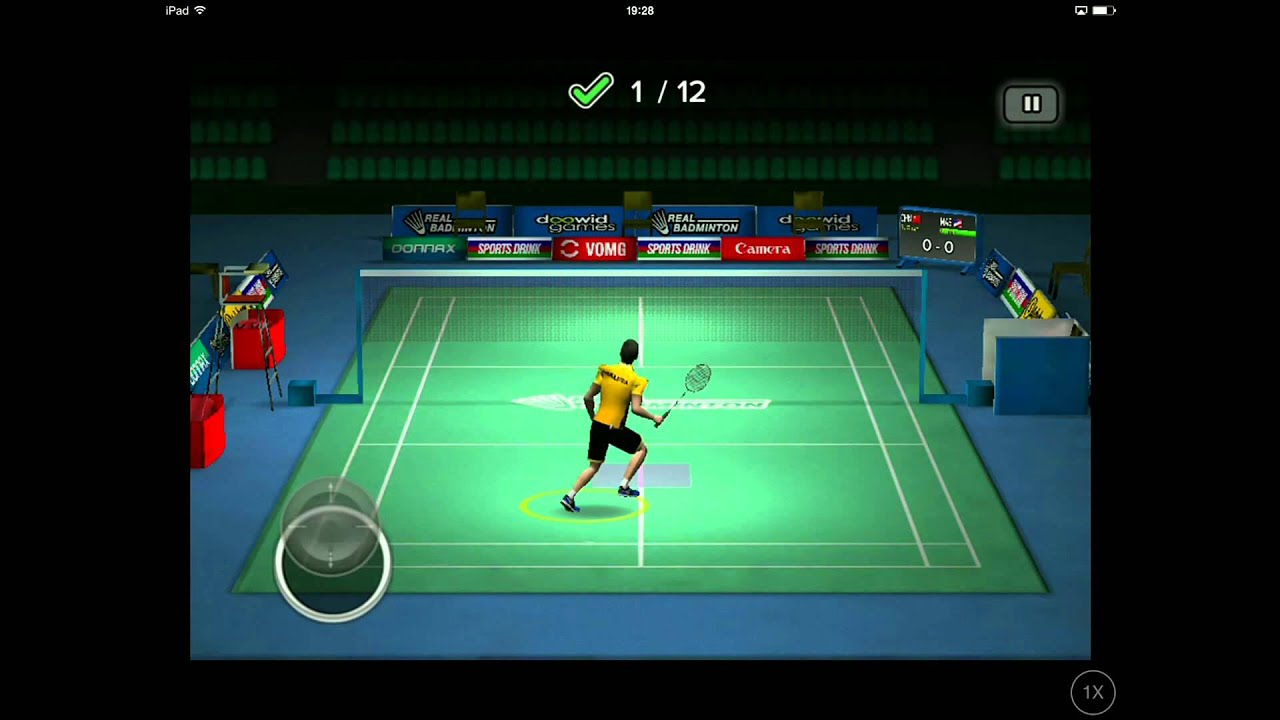 Application iphone badminton
