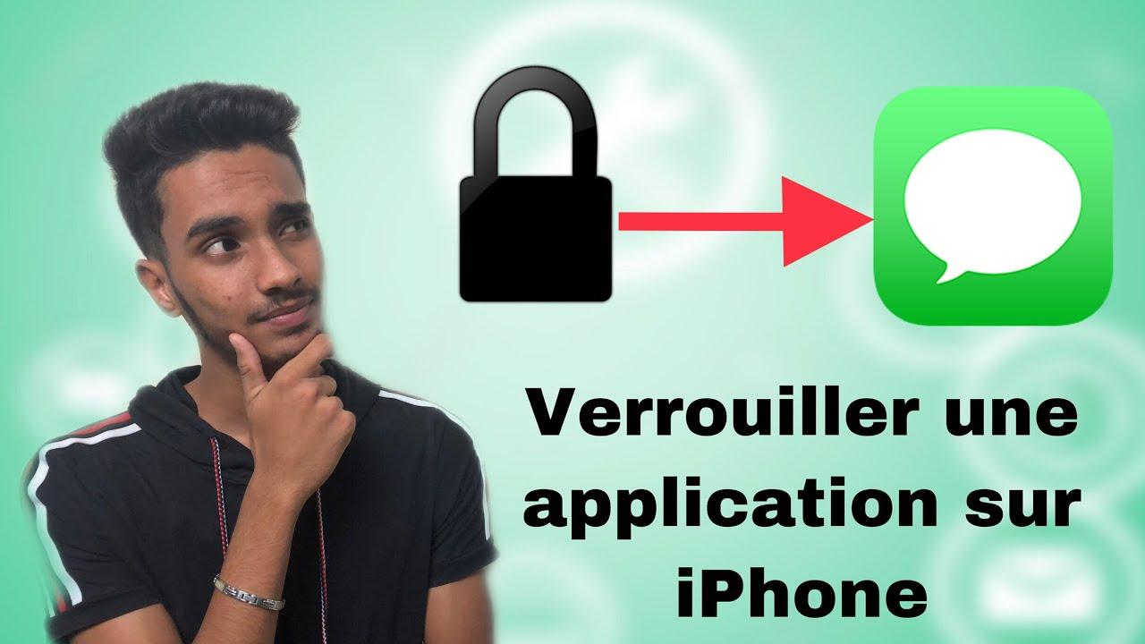 Comment verouiller une application iphone