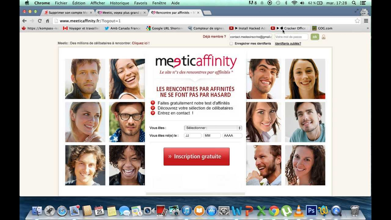 Application meetic affinity pour iphone
