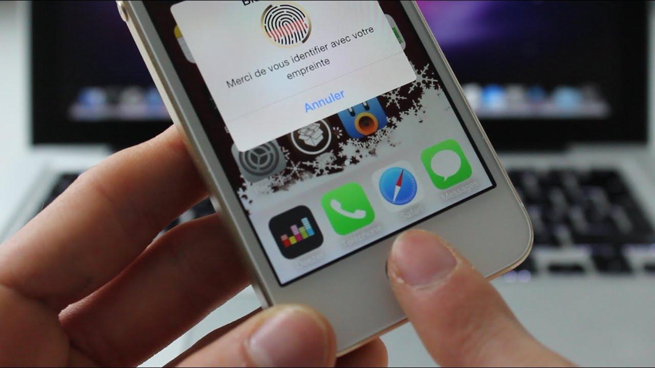 Verrouiller application iphone 6