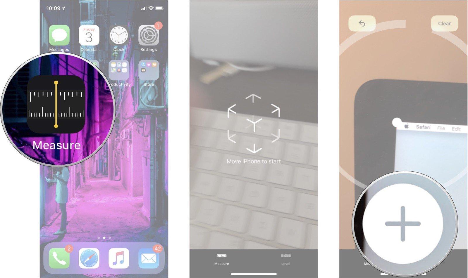 Application mesure iphone 6