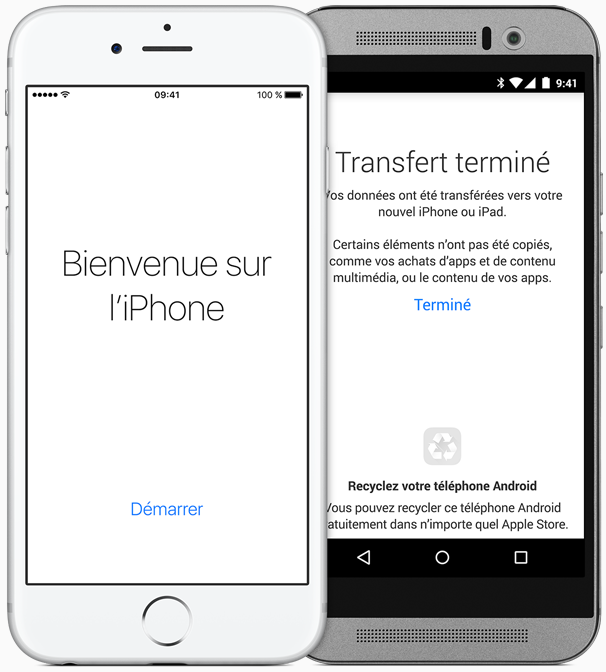 Application localisation iphone et android