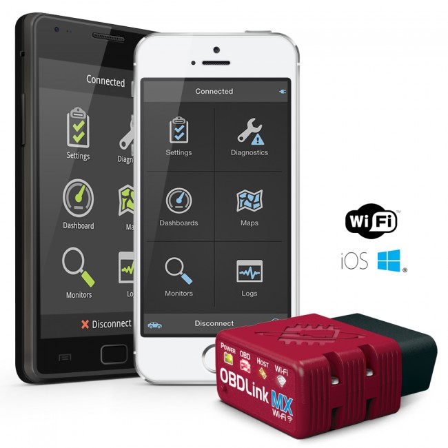Application obd iphone