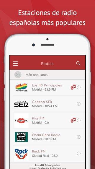 Radio application iphone