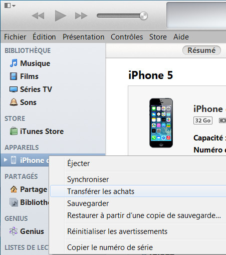 Comment sauvegarder application iphone