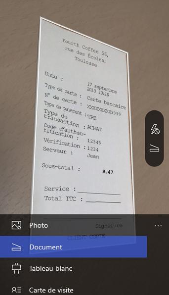 Application iphone gestion cartes de visite