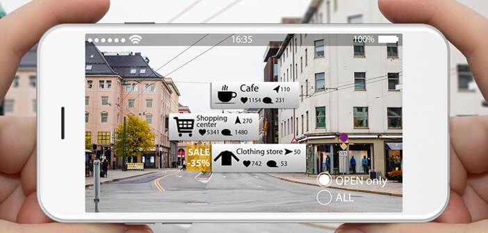 Application réalité virtuelle iphone