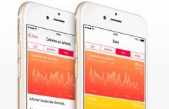 Application santé iphone fonctionnement