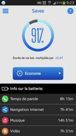 Application test batterie iphone