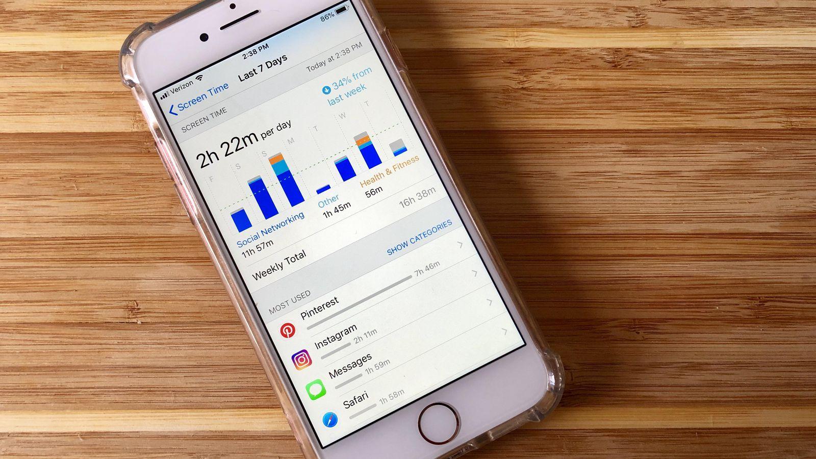 Controle parental iphone application