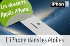 Application etoiles pour iphone