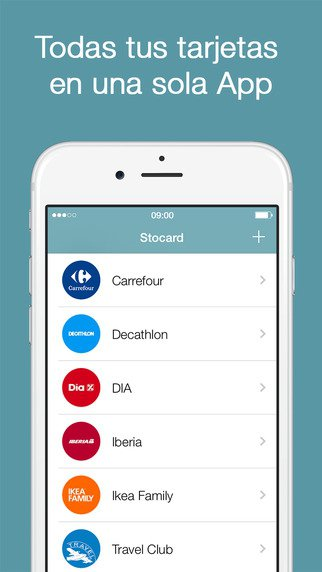 Application carte magasin iphone