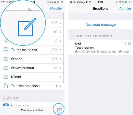 Application iphone pour changer la couleur des sms