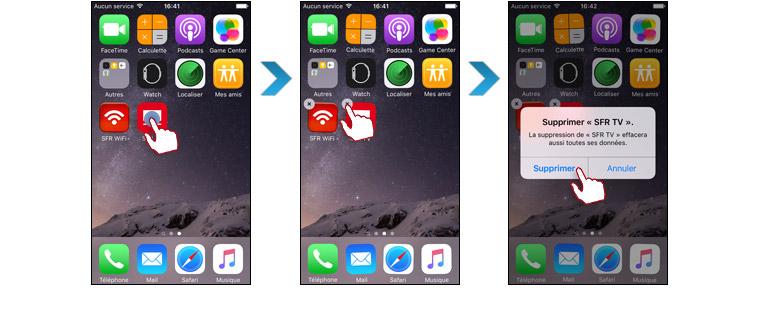 Comment installer une application iphone