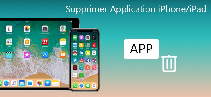 Comment retirer une application sur iphone