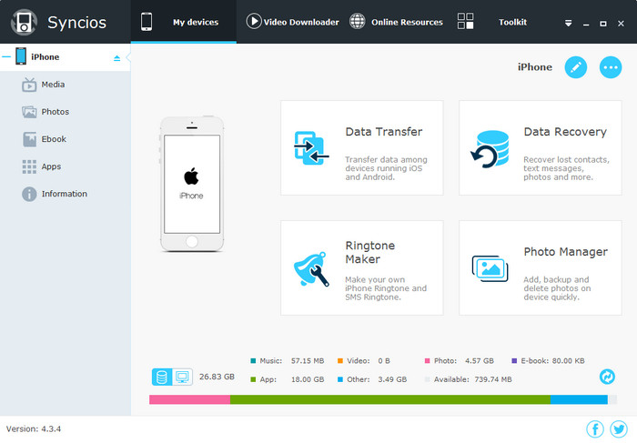 Transferer application iphone vers iphone sans itunes