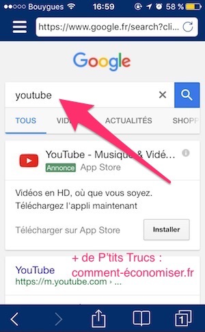 Application telecharger musique iphone youtube