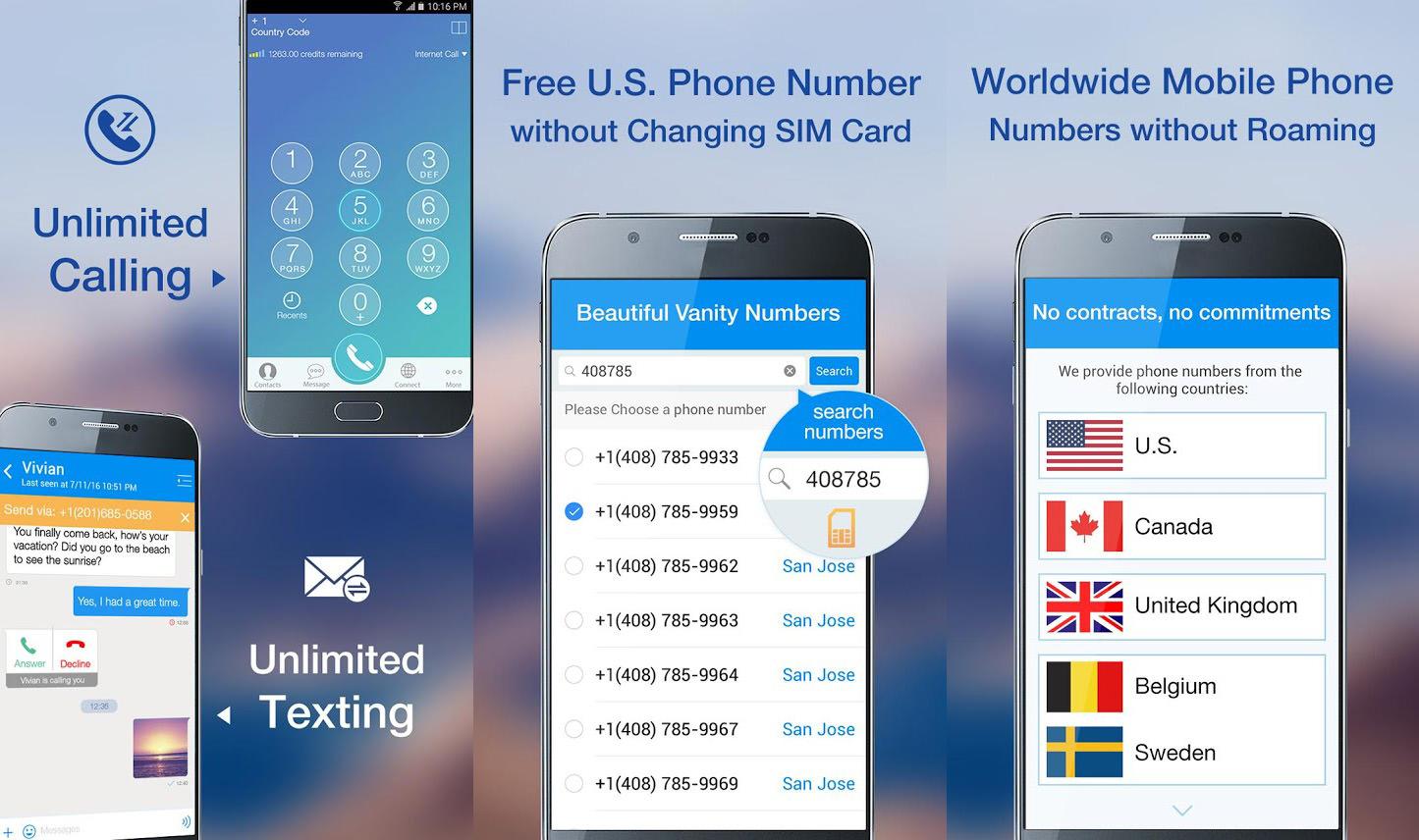 Application numero virtuel iphone
