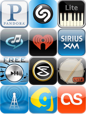 Application music iphone