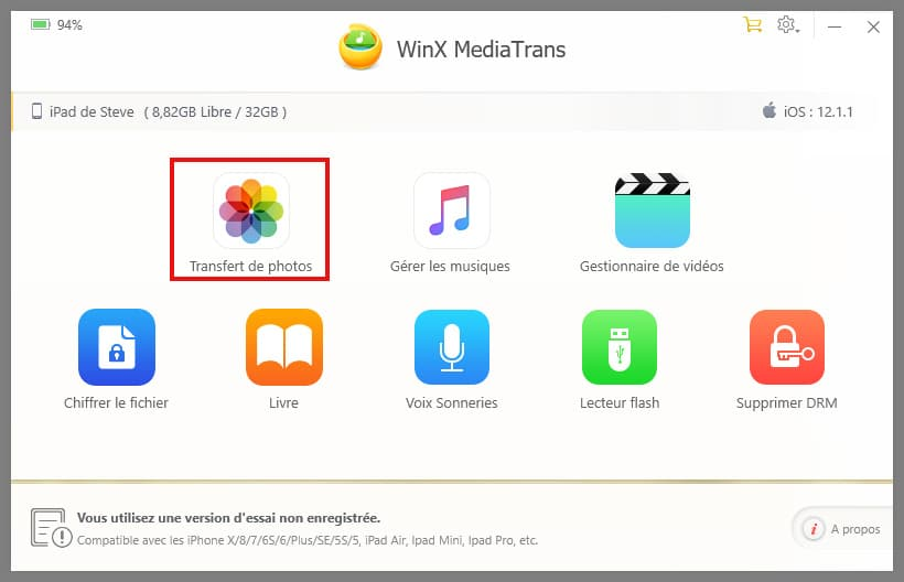 Installer application iphone depuis pc sans itunes