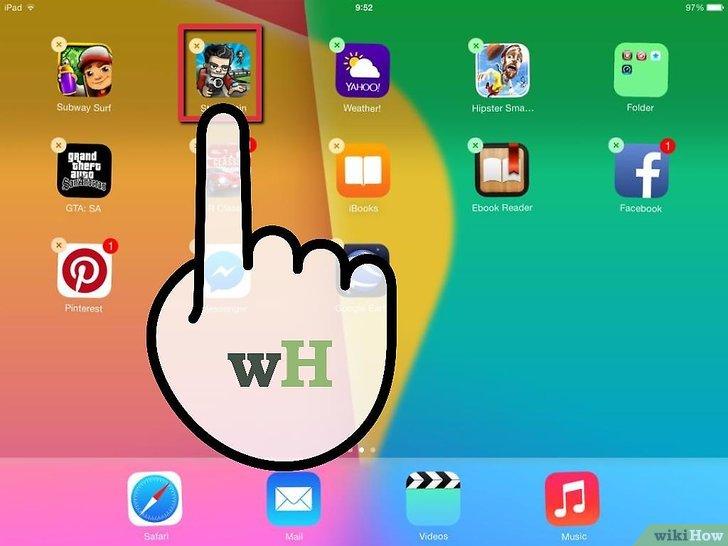 Supprimer application iphone pas de croix