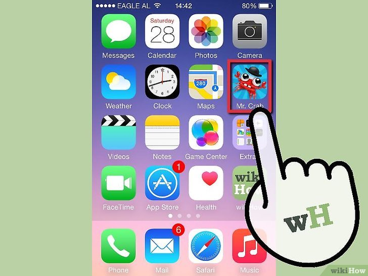 Supprimer une application iphone 8