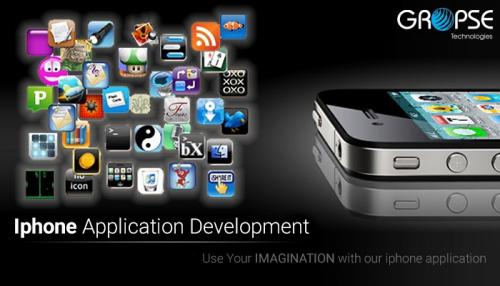 Application top iphone