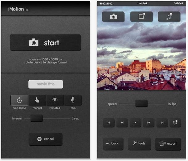 Application iphone pour mettre musique sur video