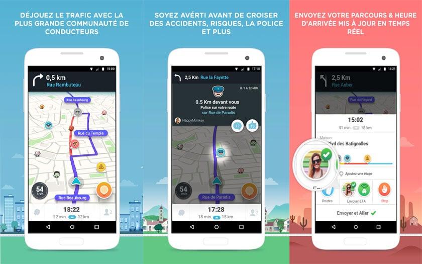 Meilleur application de navigation iphone