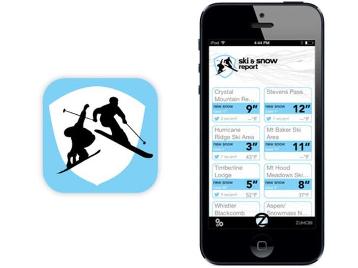 Application iphone ski