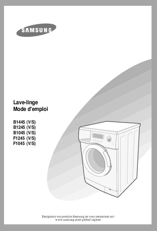 Notice gratuite lave linge