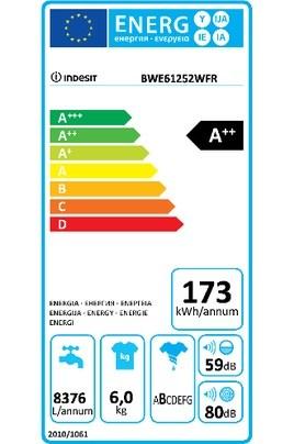 Lave linge hublot indesit ewc 81482 w fr.m