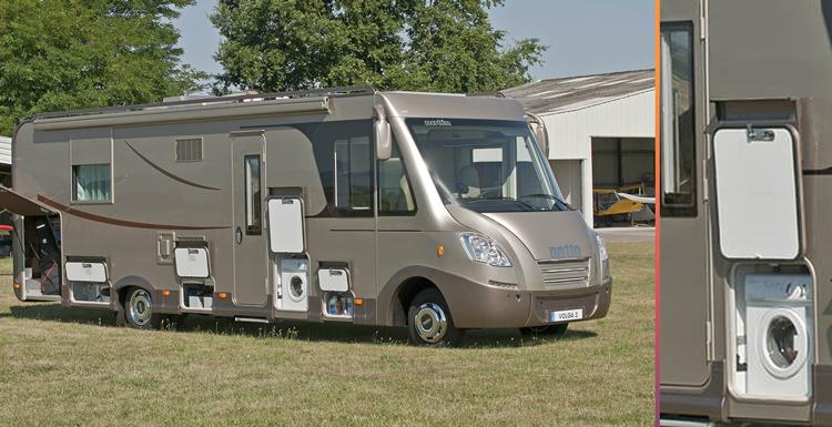 Mini lave linge camping car